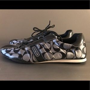 Coach tennis shoes. Gently used, great condition!